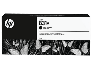 HP 831A  775-ML Black Latex ink Cartridge | CZ682A
