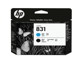 HP 831A  Cyan and Black Latex Printhead | CZ677A