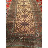 Baluch Prayer Rug - Scatter Size Rugs (2x3 to 5x8) - 1st Quarter 20th Century Persia