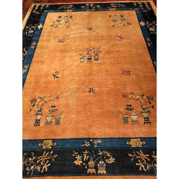 Chinese Peking - Room Size Rugs (6x9 to 10x14) - 4th Quarter 19th Century China