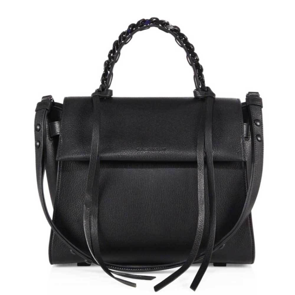 Elena Guisellini Small Angel Black Top Handle Handbag Handbag Elena Ghisellini