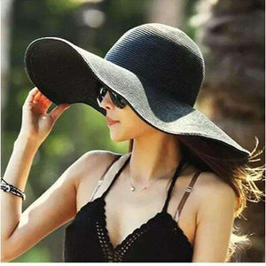 Large Brimmed Straw Hats