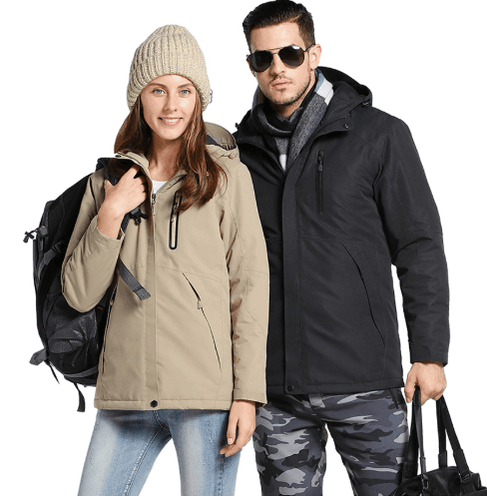 MountainRevo™ Men Women Winter Thick USB Heating Cotton Jacket