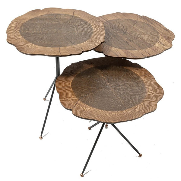 MOSS SIDE TABLE SET OF 3