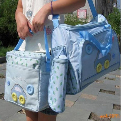 4-Piece Baby Changing Diaper Bag Set