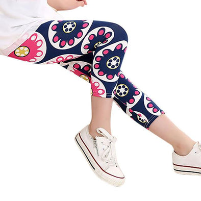 Flower Skinny Pants