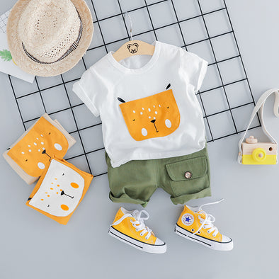2-Piece Mouse Cotton Set