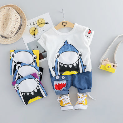 2-Piece Sharks Set