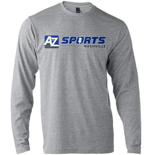 A to Z Sports Logo Long Sleeve Tee