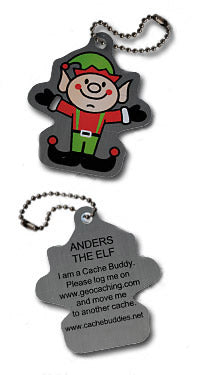 Trackable - Anders the Elf