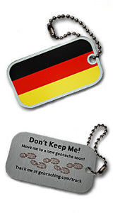 Trackable - Germany Flag