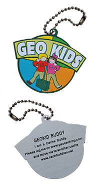 Trackable - Geokid Travel Tag