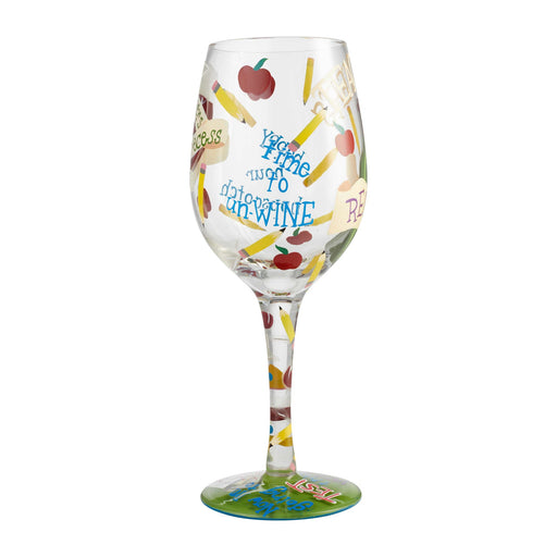 Teacher's Recess Lolita Wine Glass