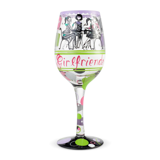 Girlfriends Lolita Wine Glass