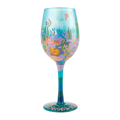 Miss Mermaid Lolita Wine Glass