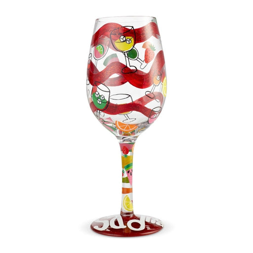 Sangria, Too Lolita Wine Glass