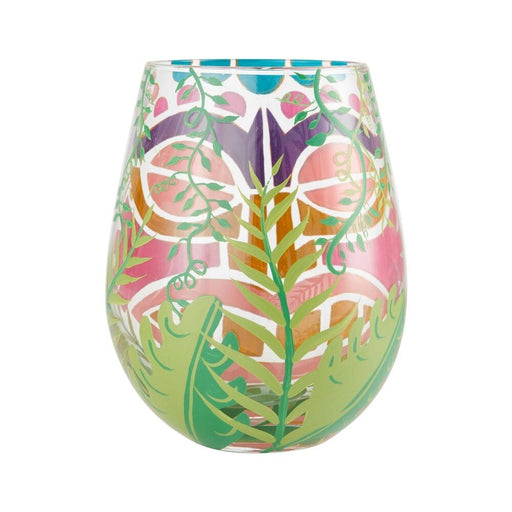 Tiki, Too Lolita Stemless Wine Glass