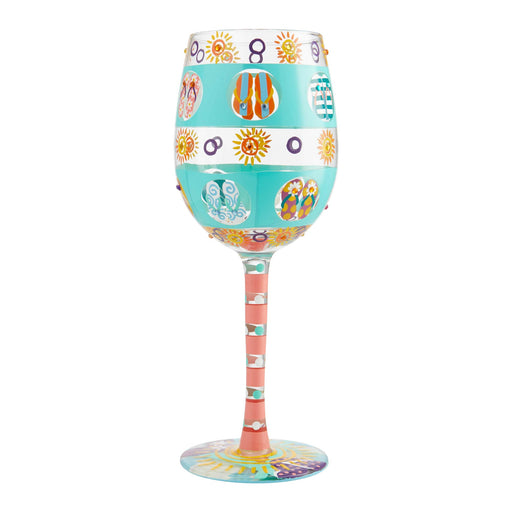 Flip Flop Days Lolita Wine Glass