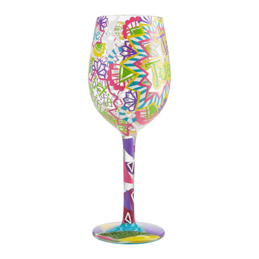 Taco Tuesday Lolita Wine Glass