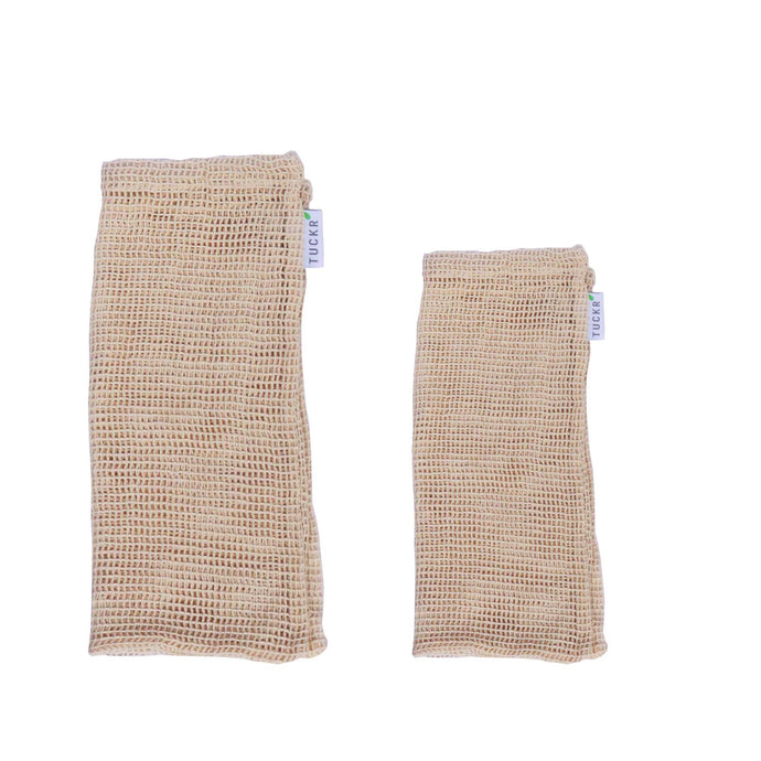 Cotton Mesh Produce Bags - 2 Pack Mix