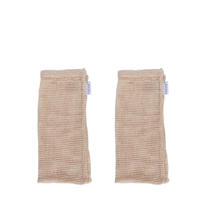 Cotton Mesh Produce Bags - Small 2 Pack