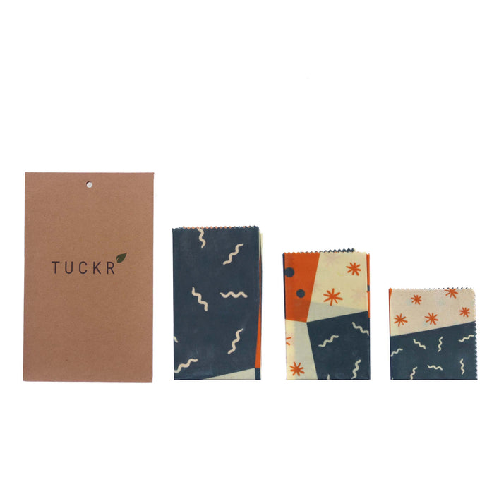 Beeswax Wrap Multi-Pack - Squiggle