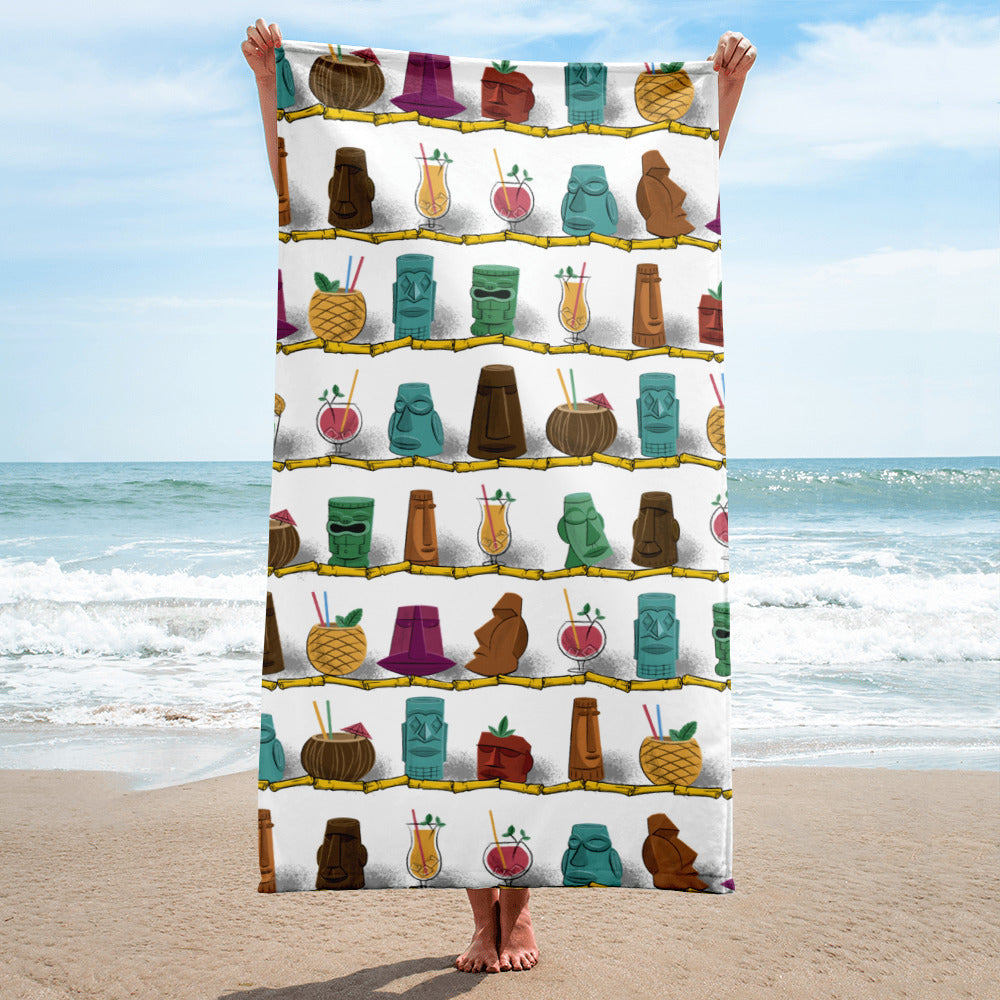 Tiki Drink Towel