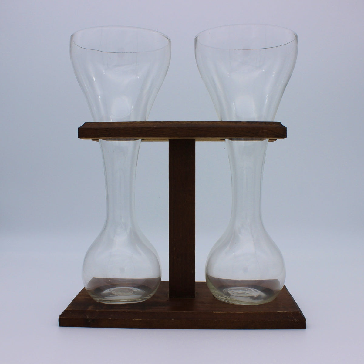 Quarter Yard Beer Set with Wood Stand (USED)