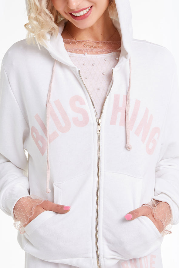 Blushing Everyday Hoodie, Hoodie, Sweater, Sweashirt, Vanilla, Wildfox