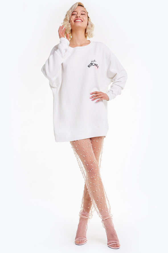 Just Hitched Roadtrip Sweater, Sweater, Sweatshirt, Vanilla, Wildfox