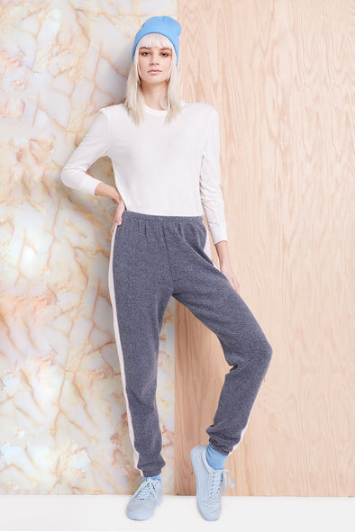 Track Knox Pants, Sweats, Pants, Bottoms, Night Rose, Wildfox