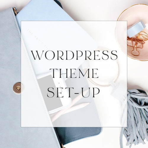 Full Wordpress Theme Set-up