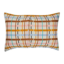 Load image into Gallery viewer, Cady Checked Linen Pillowcase Set