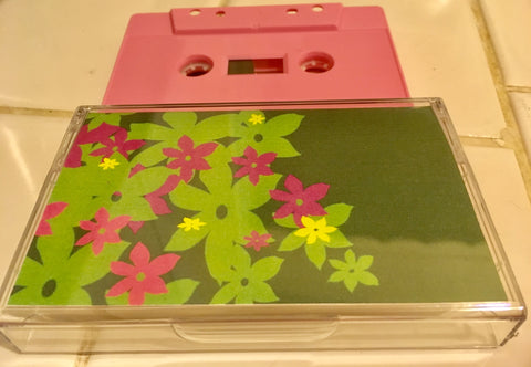 The Demo Life of COOL FLOWERS (Cosmonaut Music) cassette