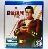 Shazam! 沙贊! 神力集結 2D + 3D Blu-Ray (2019) (Region A) (Hong Kong Version)