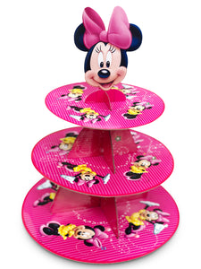 Minnie Mouse Cupcake Stand 3-Tier