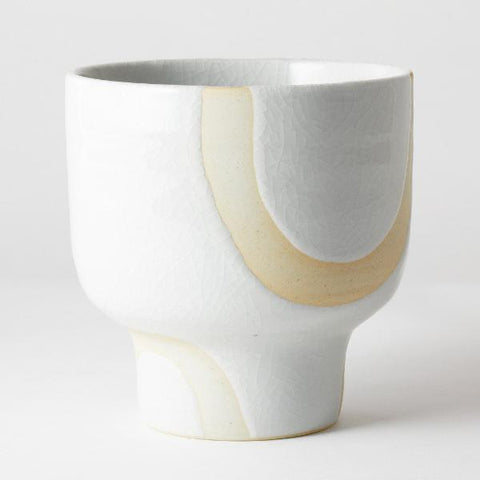 Riverstone Pot - White Bend