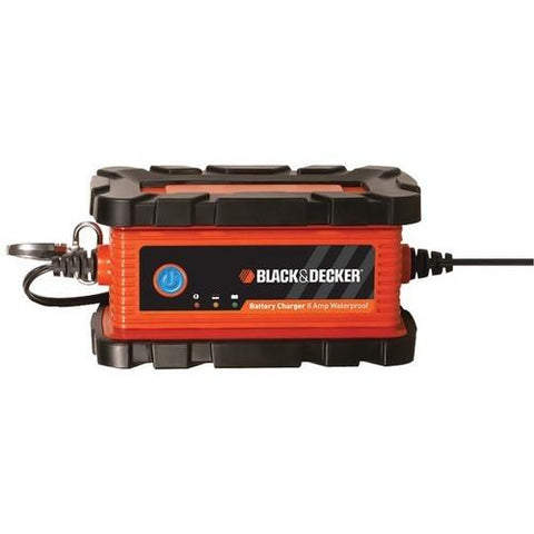 BLACK+DECKER(TM) BC6BDW Waterproof Battery Charger/Maintainer (6 Amps)