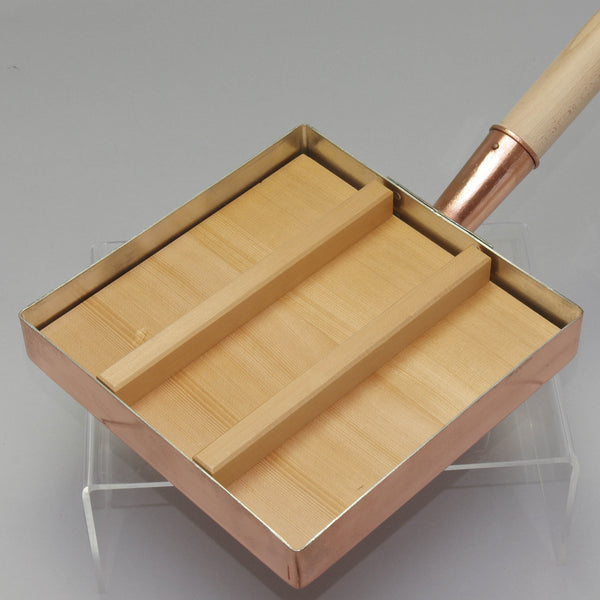 Wooden Lid for Copper Egg Pan