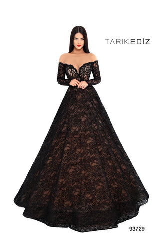Tarik Ediz 93729 Evening Dress