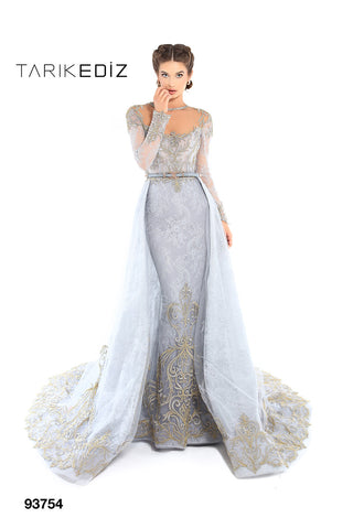 Tarik Ediz 93754 Evening Dress