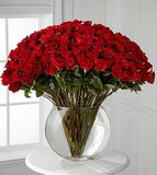 Breathless Luxury Rose Bouquet - 100 Stems 24in Premium Long-Stemmed Roses