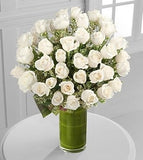 Clarity Luxury Rose Bouquet - 48 Stems of 26-inch Premium Long-Stemmed Roses