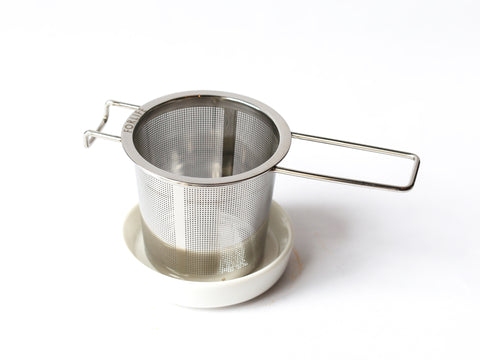 Stainless Steel Infuser with Dish