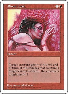 Blood Lust (5th Edition) Artist Proof