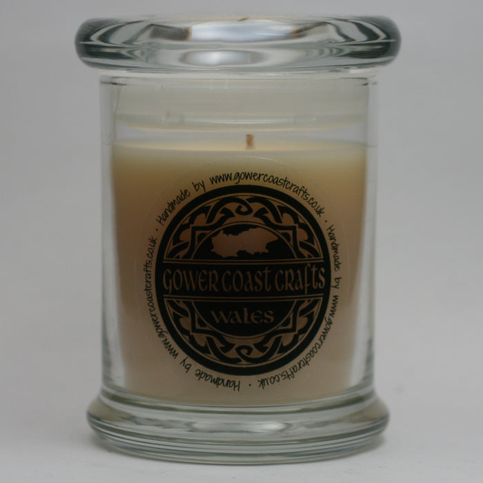 Luscious Vanilla Handpoured Highly Scented Medium Candle Jar
