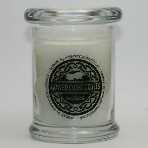 Black Pomegranate Handpoured Highly Scented Medium Candle Jar