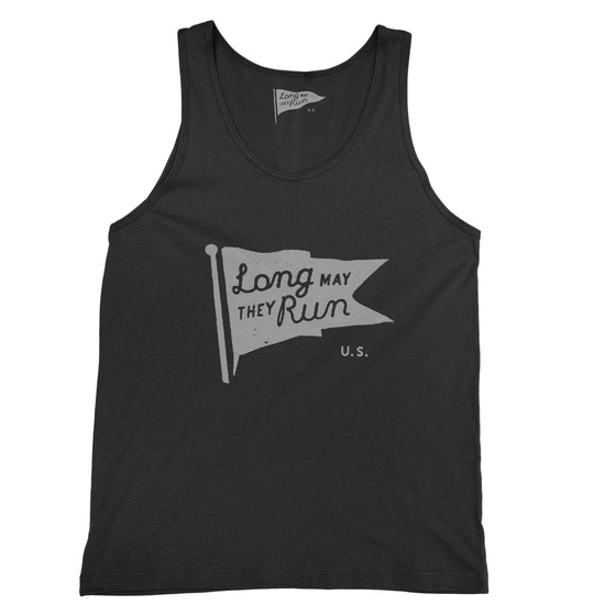 Long May They Run Unisex Pennant Tank