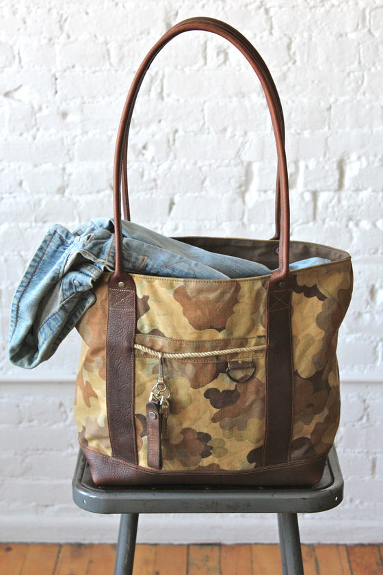1953 Korean War Mitchell Cloud Camo Carryall