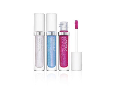 Cosmic Glow Holographic Lip Gloss Trio